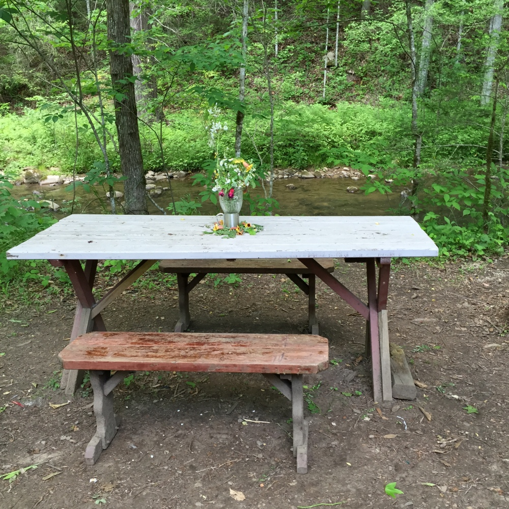 Great Smokies camping table